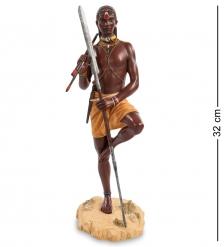 WS-731 Статуэтка  Воин племени Масаи