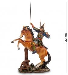 WS-740 Статуэтка  Самурай на коне