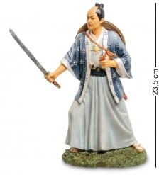 WS-754 Статуэтка Самурай с мечом