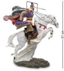 WS-759 Статуэтка  Китайский воин на коне