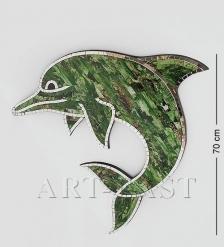 38-004 Панно  Дельфин  бол.  мозаика, о.Бали