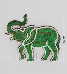 38-012 Панно  Слон   мозаика, о.Бали
