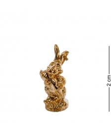 AM- 177 Фигурка-кошельковая  Умный кролик   латунь