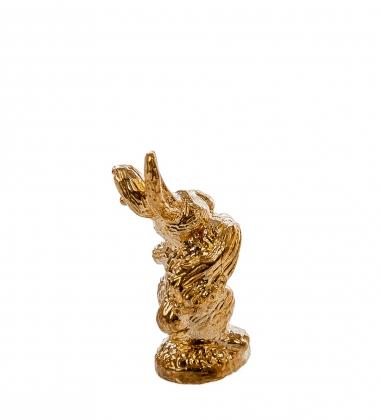 AM- 177 Фигурка кошельковая  Умный кролик   латунь