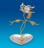 AR-1341 Подставка для украшений Бабочка на цветке  Юнион