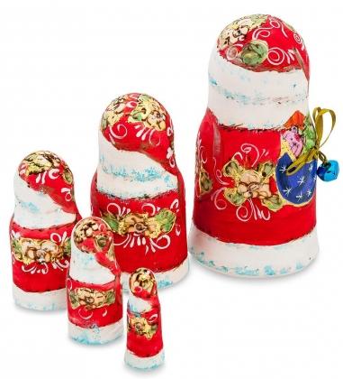 МР-23/38 Матрешка  5м  Дед Мороз с колокольчиком