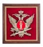 ПК-151 Панно «Эмблема Федеральной службы исполнения наказания» 20х21