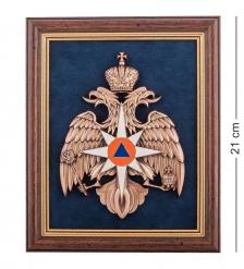 ПК-166 Панно  Герб МЧС  малая 19х23