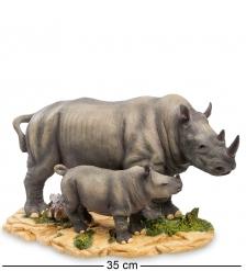 WS-771 Статуэтка «Носорог с детенышем»