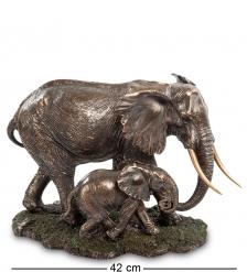 WS-772 Статуэтка «Слон с детенышем»
