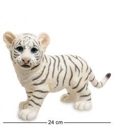 WS-778 Статуэтка  Белый тигренок