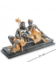 WS-646 Статуэтка  Зевс и Гера