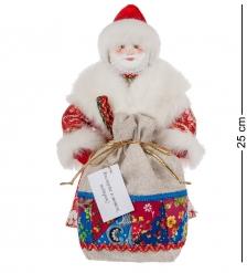 RK-615 Кукла  Дедушка Мороз с мешком