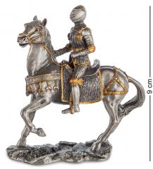 WS-822 Статуэтка  Средневековый воин на коне