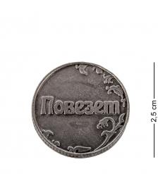 AM- 109 Монета  Повезет - не повезет   олово, латунь
