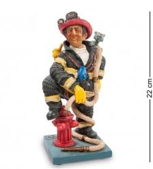 FO-84010 Статуэтка мал.  Пожарный   The Firefighter. Forchino