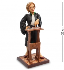 FO-84011 Статуэтка мал.  Адвокат   The Lady Lawyer. Forchino
