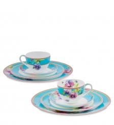 JK-112 Чайный набор на 2 перс. «Виола»  Viola Pavone
