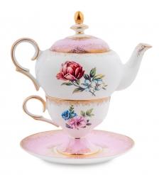 JK-127 Чайный набор  Цветок Неаполя   Fiore Napoli Pavone