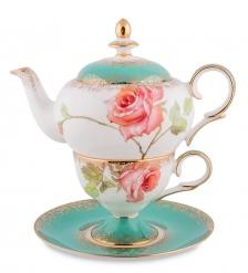 JK- 71 Чайный набор  Роза   Milano Rose Pavone