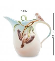 FM-77/ 1 Заварочный чайник  Зимородок Кукабара   Pavone