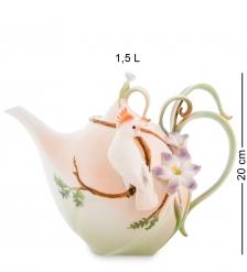 FM-79/ 3 Заварочный чайник  Попугай Какаду   Pavone
