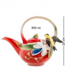 FM-81/ 1 Заварочный чайник  Иволга и Орхидея   Pavone