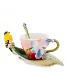 FM-81/ 2 Чайная пара  Иволга и Орхидея   Pavone