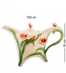 FM-83/ 1 Заварочный чайник  Тюльпаны   Pavone