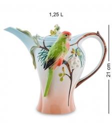 FM-79/ 1 Заварочный чайник  Попугай Розелла   Pavone