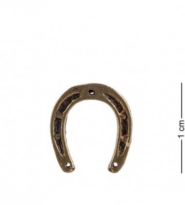 AM- 179 Фигурка кошельковая  Подкова   латунь