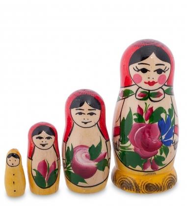 МР-10/ 2 Матрешка 4-кукольная  Семеновская