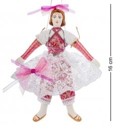 RK-518 Кукла подвесная  Балеринка  фарфор