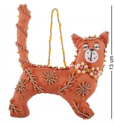 RK-521 Кукла подвесная  Кот  бисер в асс. - Вариант A