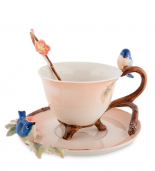 FM-80/ 2 Чайная пара  Голубые птицы   Pavone
