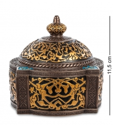WS-529 Шкатулка с орнаментом  Арабеска