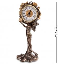 WS-687/ 2 Часы Девушка и лотосы