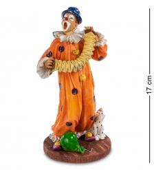 WS-675 Статуэтка «Клоун с гармошкой»