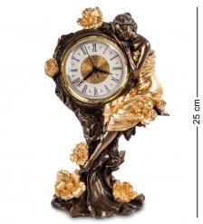 WS-688/ 2 Часы «Девушка и розы»