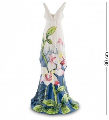 JP-96/30 Статуэтка-ваза Платье  Pavone