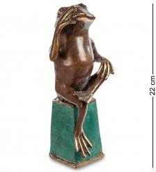 43-063 Фигурка  Лягушка   бронза, о.Бали