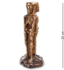 43-089 Фигурка «Скелет»  бронза, о.Бали