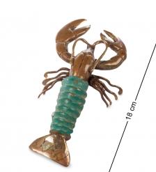 43-119 Фигурка  Лобстер   бронза, о.Бали