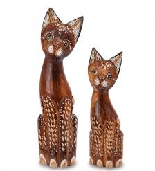 25-031 Фигурка Кошка  албезия, о.Бали  н-р из двух