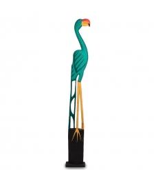 90-020 Статуэтка «Зеленый Фламинго» 125 см