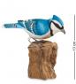89-007 Фигурка  Голубая сойка   о.Бали