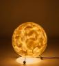 34-017 Светильник из перламутра Яйцо дракона мал.
