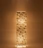 34-020 Светильник из перламутра Башня 100см