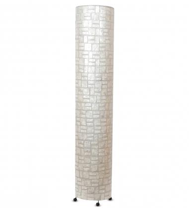 34-023 Светильник из перламутра «Цилиндр» 150см