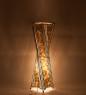 34-036 Светильник из перламутра «Волна» 80см